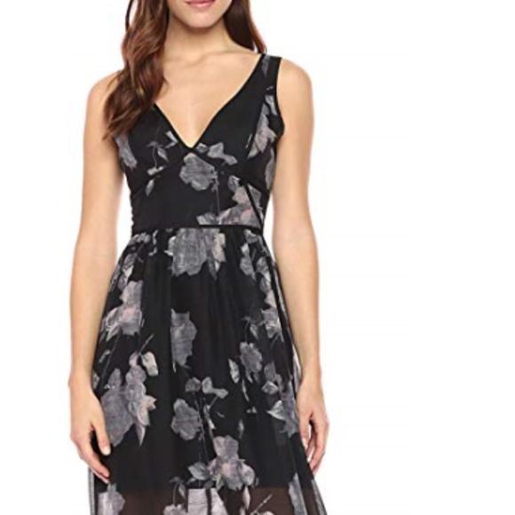BCBGeneration Dresses & Skirts - BCBGeneration Women's Floral V-Neck Maxi Dress
